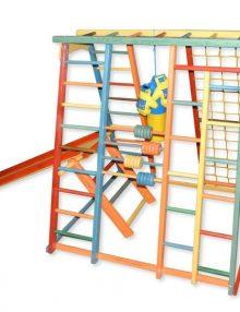 Детский спортивный комплекс Babygrai Радуга для улицы