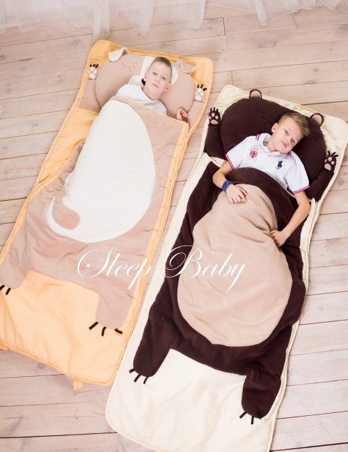 Слипик Медвежонок детский спальный мешок