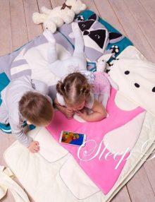 слипик Енотик детский спальный мешок