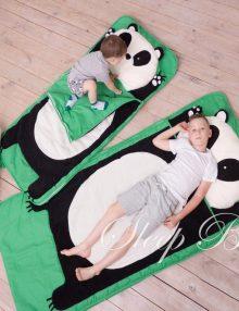 слипик панда детский спальный мешок