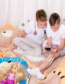слипик Котик детский спальный мешок