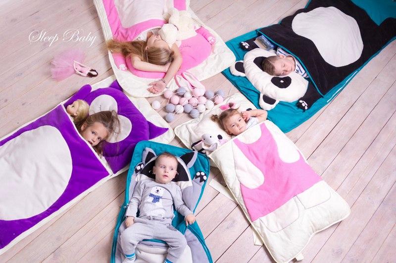 Слипики для детей. Детские спальные мешки