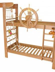 """Двухъярусная кровать """"Пират"""" БУК"""