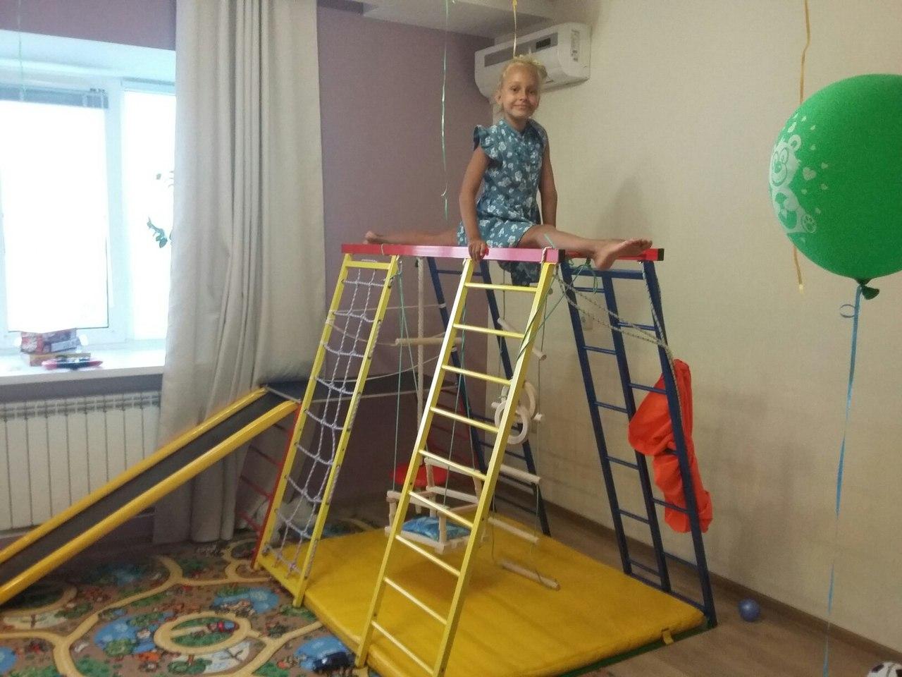 Детский спортивный комплекс лидер - Адмирал. Отзывы Логика Спорта