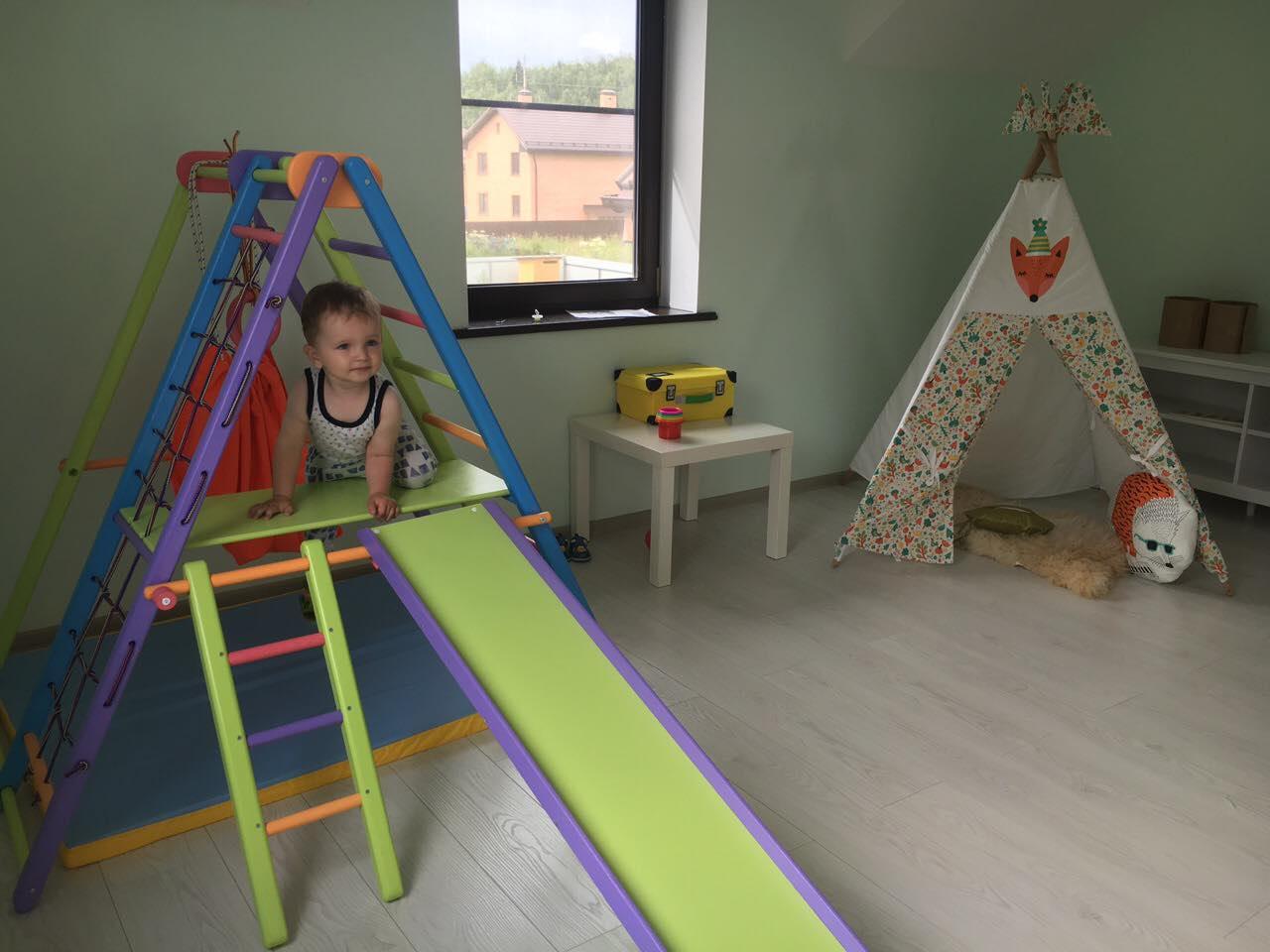 Детский спортивный комплекс Кроша. 3 енота. Отзывы Логика Спорта