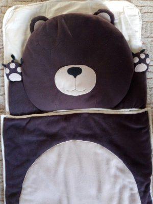 слипик Медвежонок. Детский спальный мешок. отзывы Логика Спорта