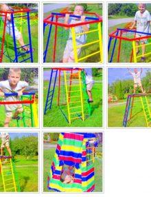 Мини детский спортивный комплекс. Полный набор