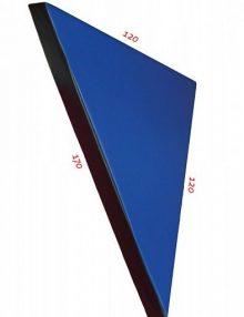 Мат гимнастический угловой 120х170x8