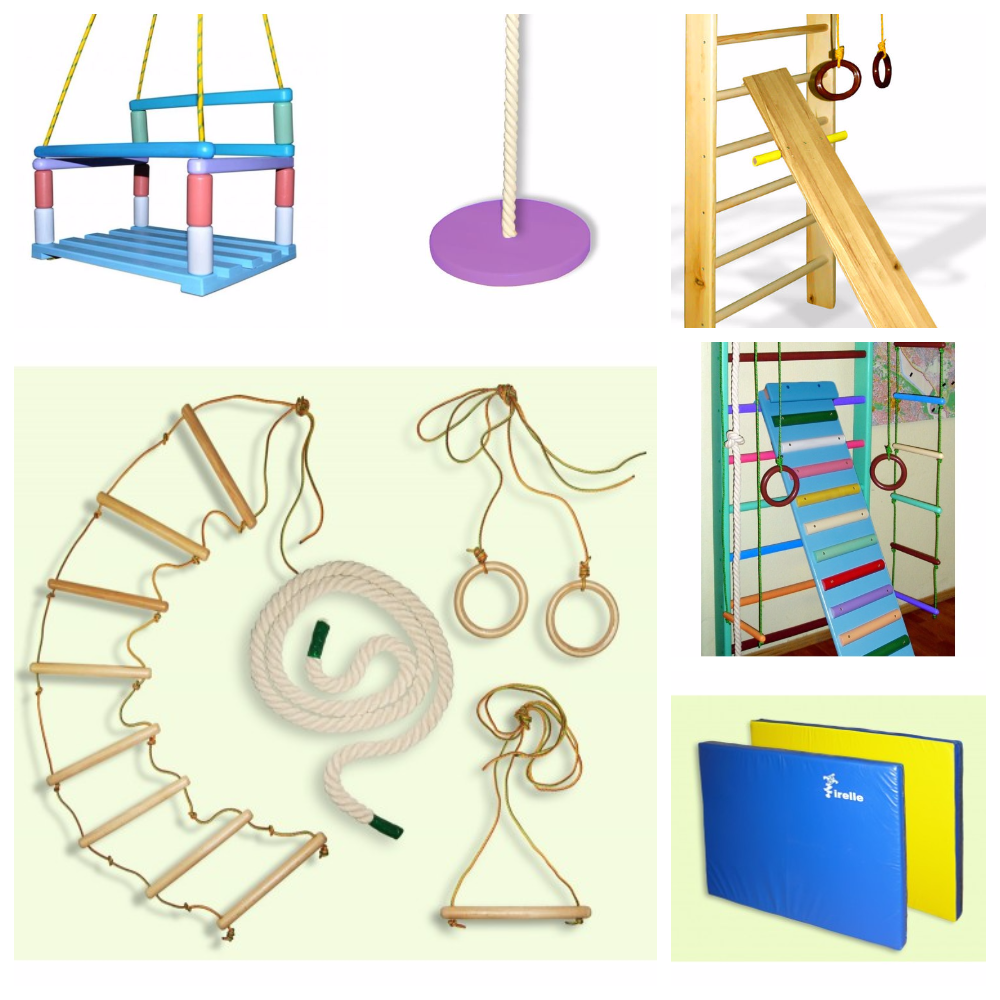 комплектующие к детским спортивным комплексам