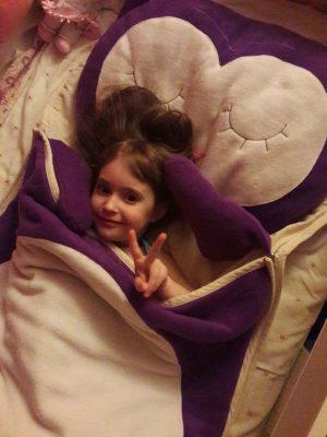 """слипик """"Сова"""" детский спальный мешок"""