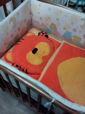слипик детский спальный мешок Тигрёнок