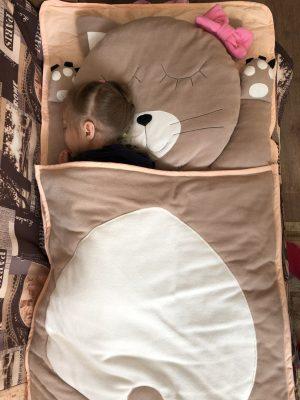 слипик Кошечка детский спальный мешок