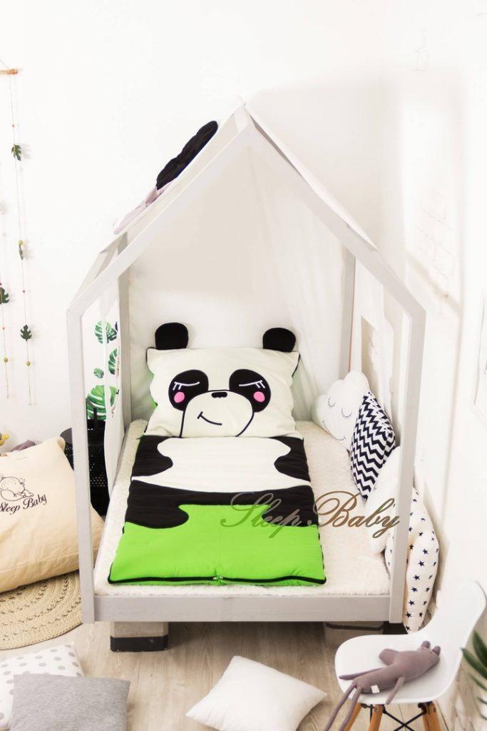 Слипик с разъемной молнией «Панда»