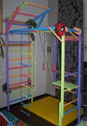 Домашний спортивный уголок Лиана цветной
