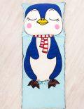 Слипик с разъемной молнией «Пингвин»