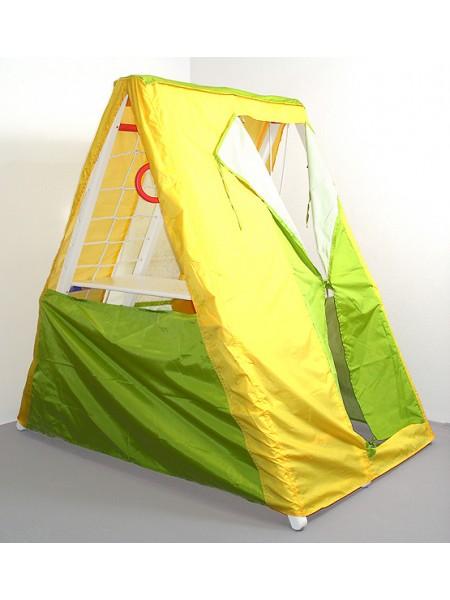 3 енота кроша белый с палаткой